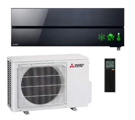 Air conditioner  MITSUBISHI Onyx Black Diamond 5,0kW