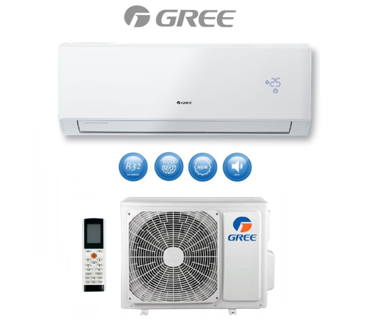 Wall air conditioner GREE LOMO LUXURY PLUS 2,7kW