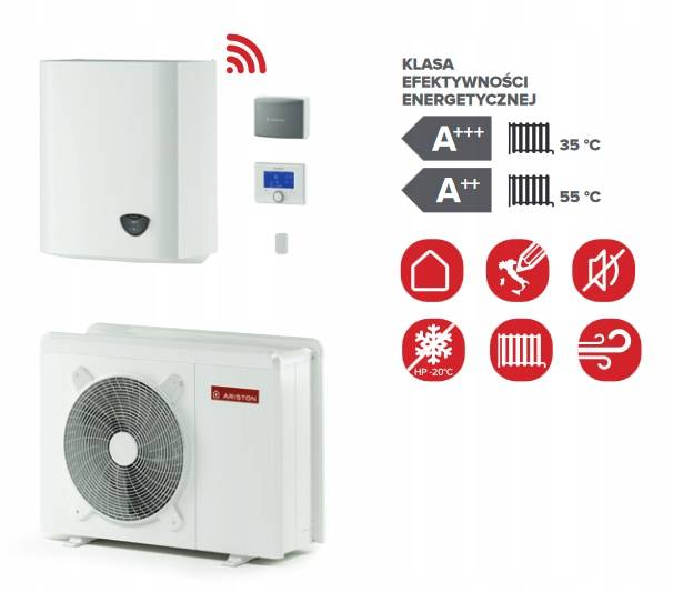 Pompa ciepła ARISTON NIMBUS PLUS 40 S NET 5,7 kW