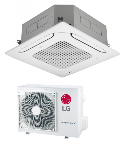 Cassette air conditioner LG Compact Inverter 6,8 kW R32