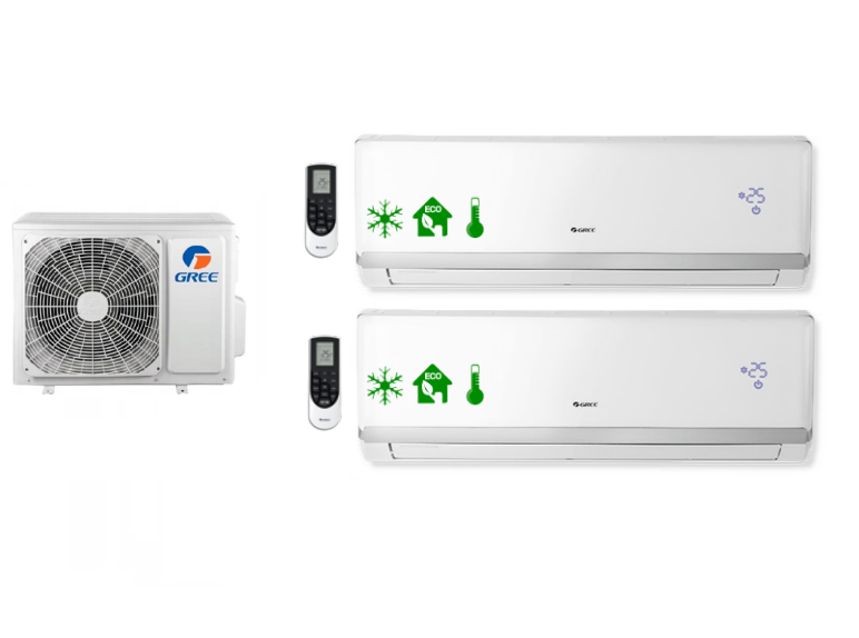 Multi-systems GREE LOMO LUXURY 3,5kW + 7,0kW Outdoor unit. 10