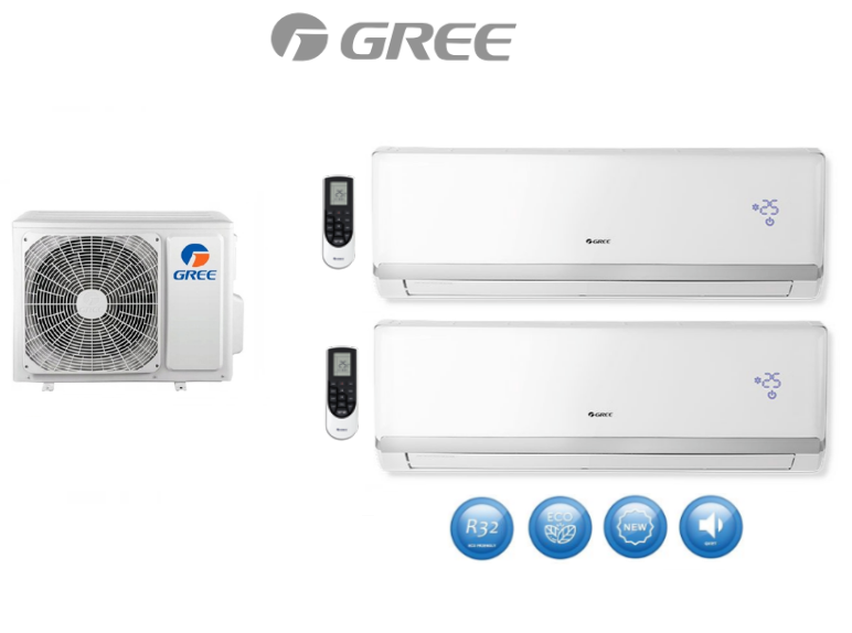 Multi-systems GREE LOMO LUXURY 2x 6,4kW Outdoor unit  12kW