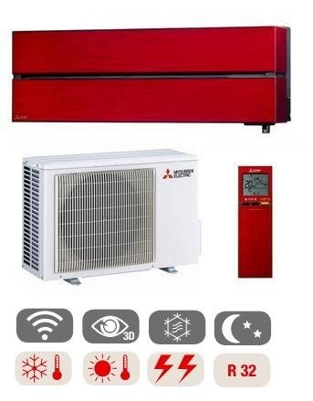 Air conditioner  MITSUBISHI Ruby Red Diamond 2,5kW