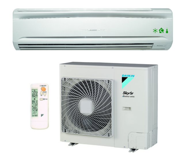 Wandklimaanlage DAIKIN ADVANCE-SERIES 1 Phase 9,5kW